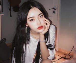 asian, korean, and style image
