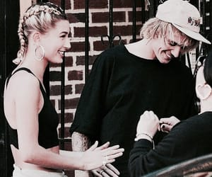 hailey baldwin, jailey, and justin bieber image