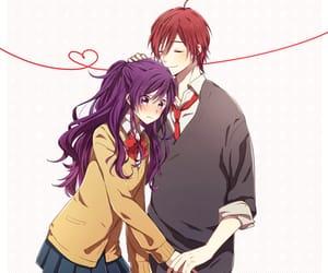 anime, kawaii, and rainbow days image