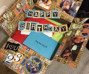 love, birthday, and gift image
