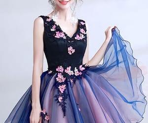 bridesmaid, dress, and girls image