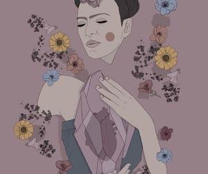 art, beautiful, and frida kahlo image
