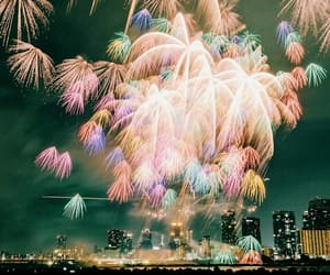 live, fuegos artificiales, and firework image