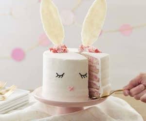 Blanc, dessert, and lapin image