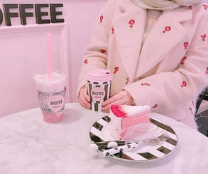 aesthetic, cake, and milk image