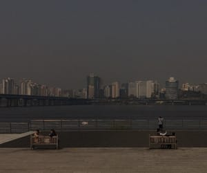 asian, city, and dim image