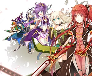 lass, ronan, and elesis image