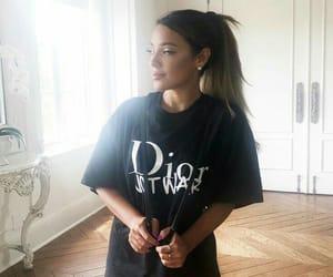 brunette, closet, and dior image