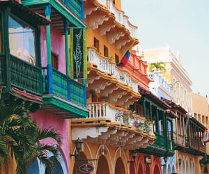 colorful, cartagena, and beautiful image