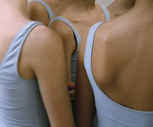 body, blue, and ballet image