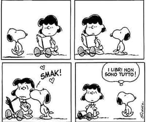 kiss, snoopy, and peanuts image