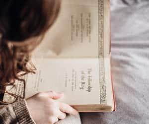 books, kid, and child image