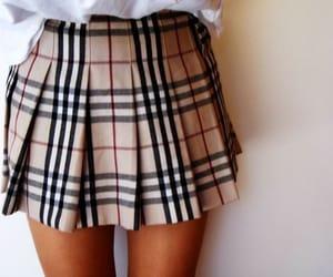 fashion, skirt, and Burberry image