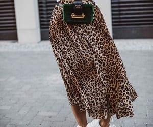 chic, fashion, and leopard image