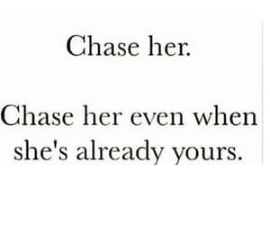 chase, Relationship, and text image