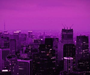 amazing, buildings, and pink sky image
