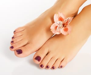spa services, nail care services, and pedicure services image
