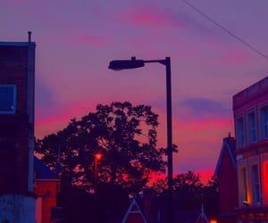 grunge, sky, and purple image