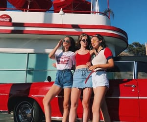 girls, bff, and summer image