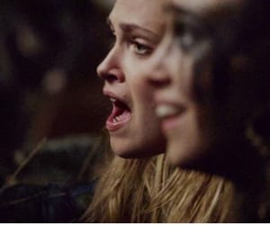 lexa, the100, and clarke griffin image