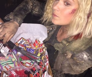the100, clarke griffin, and wanheda image