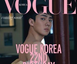 exo, sehun, and vogue image