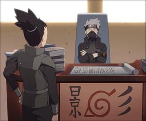gif, kakashi, and shikamaru image