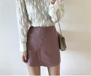 fashion, kfashion, and mini skirt image