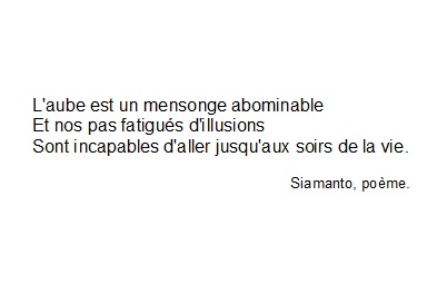 Citation De Siamanto Poème Shared By Monstrueuse