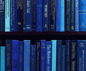 blue and book image