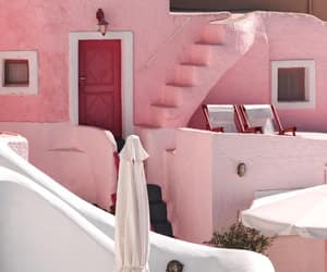 aesthetic, house, and pink image