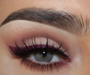 clothes, eye, and makeup image