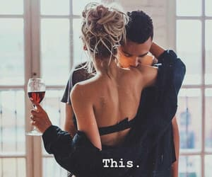 love, couple, and outfit image