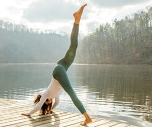 abs, natur, and yoga image