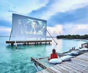 travel, beach, and movie image