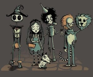 tim burton, beetlejuice, and cartoon image