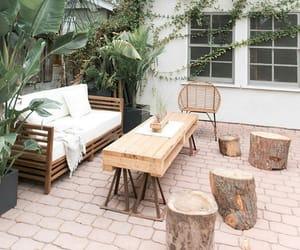 backyard, garden, and yard image