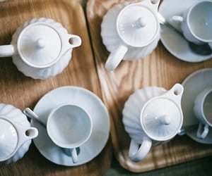 cups, vintage, and mugs image