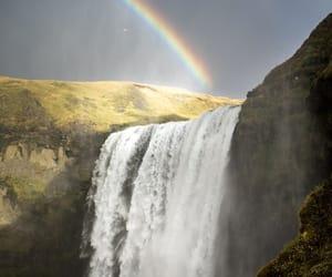 nature, rainbow, and tumblr image