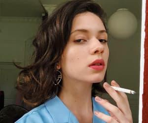 girls, models, and smoke image