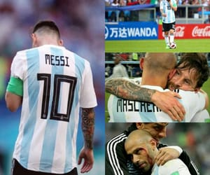 argentina, leo messi, and world cup image