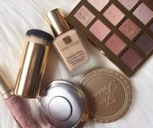 cosmetics, makeup, and estee lauder image