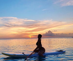 kylie jenner, sunset, and summer image