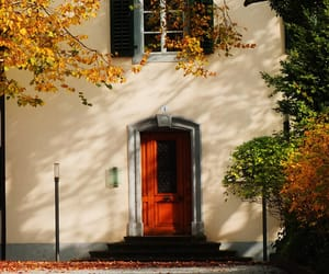 autumn and house image
