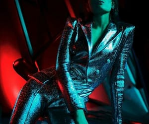 Balmain, fashion, and lights image