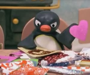 pingu and reaction meme image