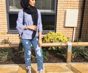 comfy, fashion, and hijab image