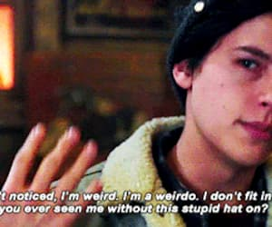 gif, quotes, and cole sprouse image