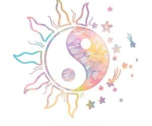 sun, stars, and overlay image