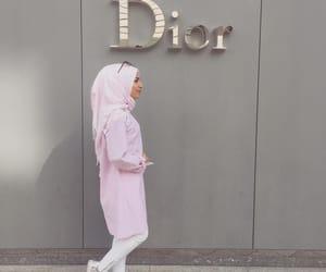 dior, fashion, and hijab image